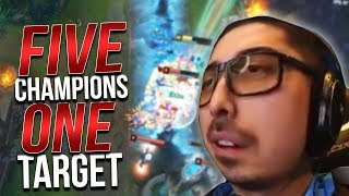 FIVE CHAMPIONS.... ONE TARGET! | UDYR VS THE WORLD - Trick2G