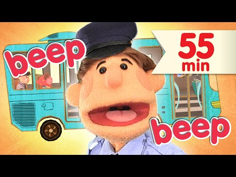 Thumbnail: The Wheels On The Bus + More | Nursery Rhymes | Super Simple Songs