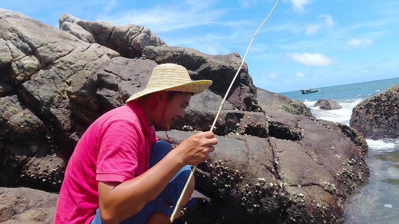 老旺釣魚就是這麼豪橫,30秒上魚還嫌慢,沒人能模仿【老旺與海】