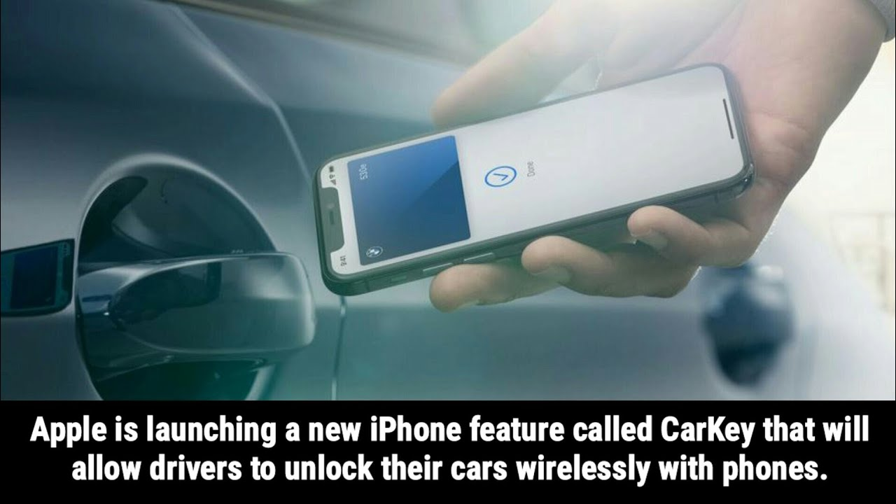 Apple announces CarKey feature, allowing drivers to wirelessly unlock their Car with an iPhone