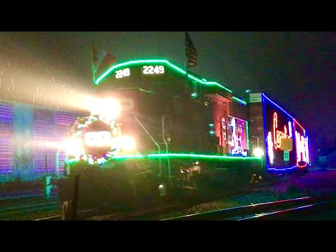 2019 Canadian Pacific Holiday Train Smiths Falls