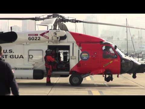 Coast Guard Medevac in San Diego