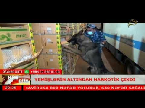 545 Kiloqram 105 Qram Heroin Aşkar Edilib (Space TV)