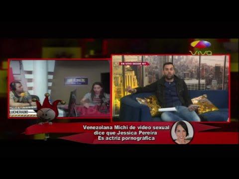 Michi Marin de video sexual dice que Jessica Perreira es actr�z pornografica y esta le responde