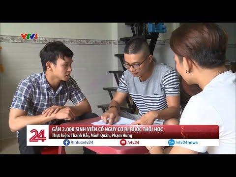 Gần 2.000 sinh viên trường ĐH Giao thông Vận Tải TP. HCM có nguy cơ bị thôi học  - Tin Tức VTV24