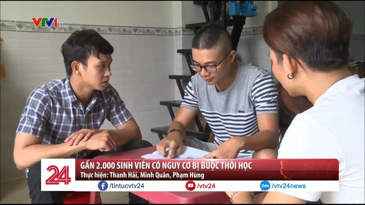 Gần 2.000 sinh viên trường ĐH Giao thông Vận Tải TP. HCM có nguy cơ bị thôi học  – Tin Tức VTV24