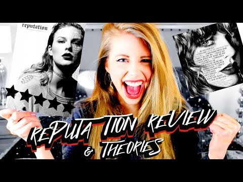 TAYLOR SWIFT REPUTATION ALBUM REVIEW, REACTION, & THEORIES