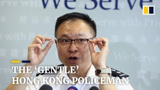 Viral 'gentle' Hong Kong policeman hopes to resolve stand-offs without clashes