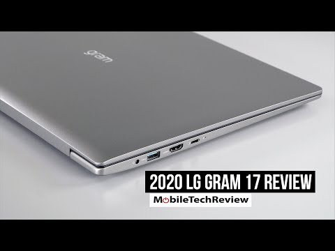 LG gram 17 (2020) Review