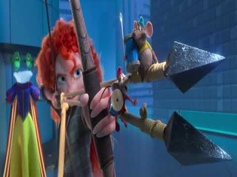 Hd Disney Princesses Saving Ralph Scene Ralph Break The Internet 2018 Youtube