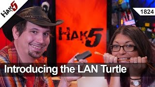 Introducing the LAN Turtle - Hak5 1824