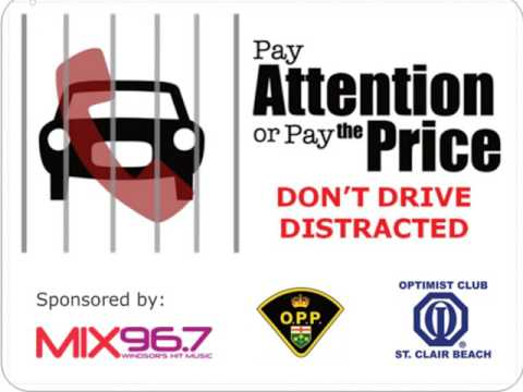 Mix 96 7 ~ Distracted Driving 15 Second PSA   2