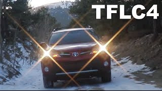 2015 Honda CR-V vs Toyota RAV4 Snowy Off-Road Review: The Fast Lane Car Episode # 4