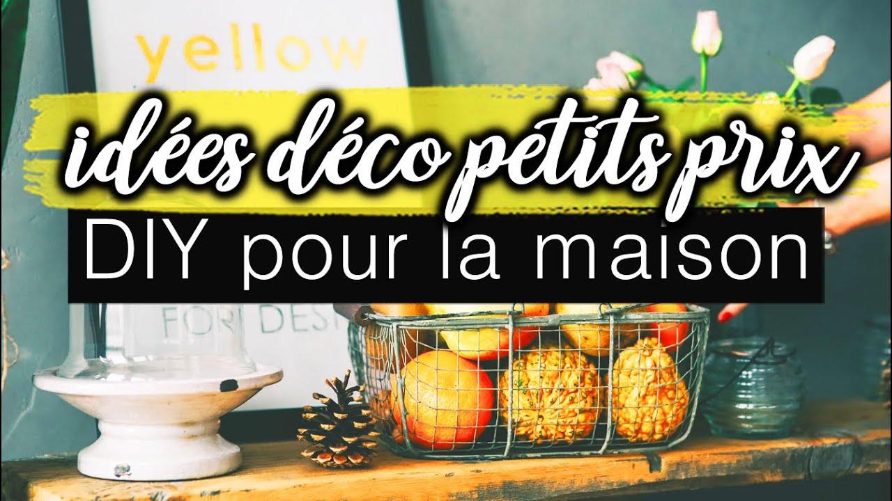 26 IDÉES DÉCO POUR LA MAISON (petit Budget)