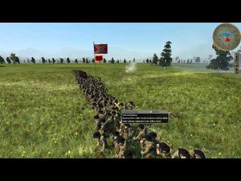 American Civil War - Union v Confederacy - Online Battle #0001