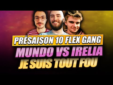 Vidéo d'Alderiate : [FR] ALDERIATE, RHOBALAS & LE FLEX GANG - PRÉSAISON 10 - MUNDO VS IRELIA - WTF LE NOUVEAU PERSO