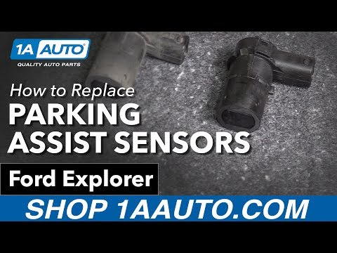 How to Replace Parking Assist Sensor Kit 02-06 Ford Explorer