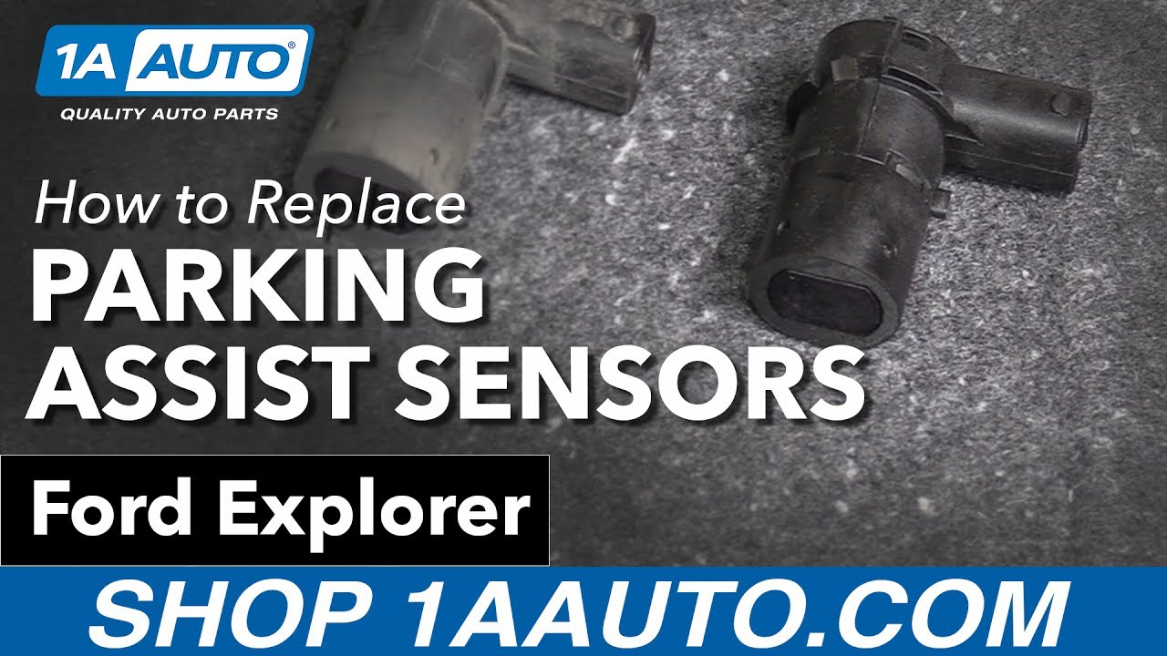 How To Replace Install Parking Assist Sensor Kit 2002 06 Ford 2010 Ranger Headlight Switch Wiring Explorer