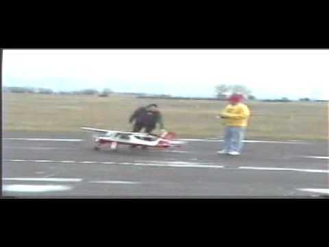 R/C Model PZL-104 Wilga 35/80 (23%) first flight