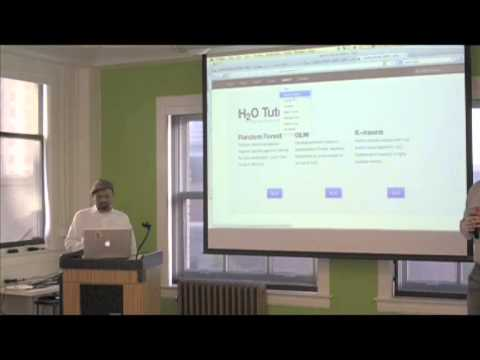H20: Open Source Scalable Machine Learning