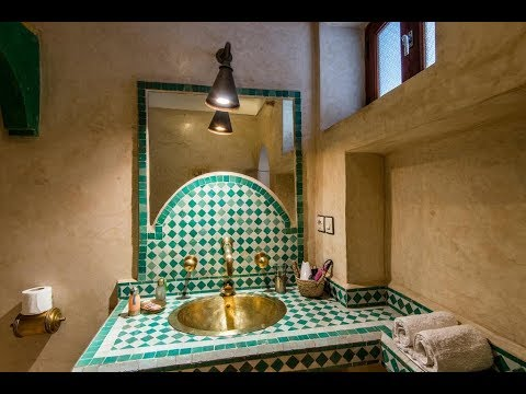 salle de bain marocaine moderne 2019 youtube. Black Bedroom Furniture Sets. Home Design Ideas