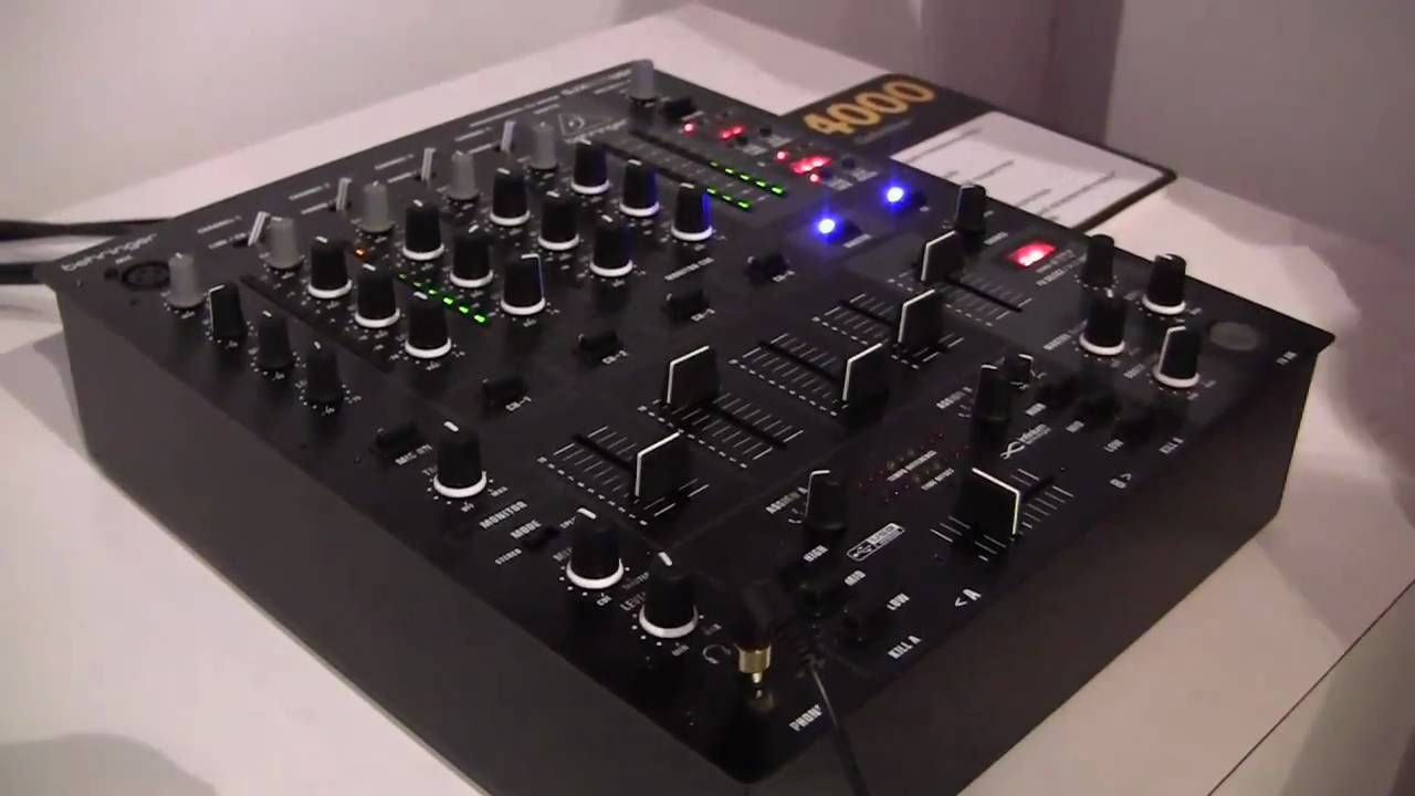 behringer djx900usb dj mixer namm 2011 youtube. Black Bedroom Furniture Sets. Home Design Ideas