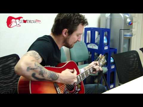 Cowboy Chords - Frank Turner - acoustic session on Rock'n'Live