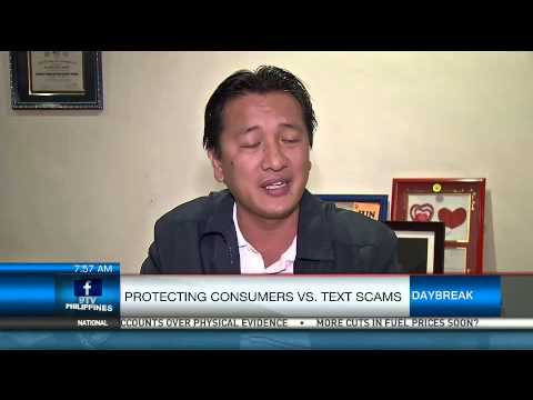 Protecting Consumers Vs. Text Scams