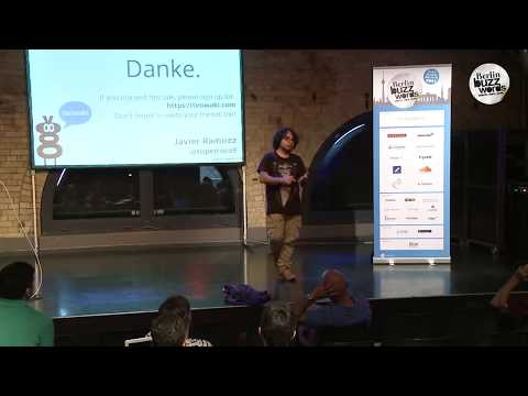 Berlin Buzzwords 2014: Javier Ramirez - How You Can Benefit From Using Redis #bbuzz on YouTube