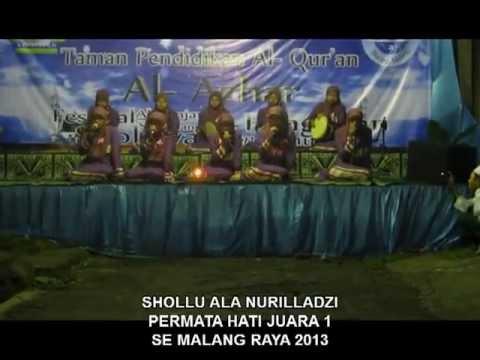 SHOLLU ALA NURIL LADZI   (Permata Hati Group ), Juara 1 se Malng Raya