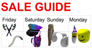Roblox Memorial Day Sale Guide And Schedule