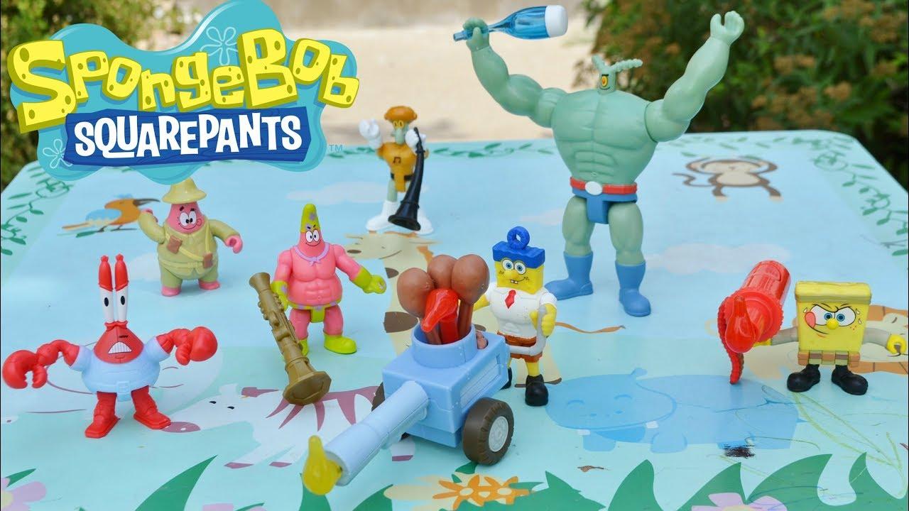 SpongeBob SquarePants - Patrick, Squidward, Mr. Krabs and ...
