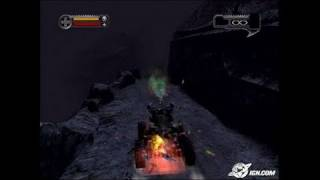 Darkwatch PlayStation 2 Gameplay - Run 'em down