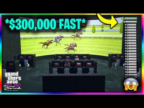 $300,000 In 1 Minute!? SOLO Horse Race MONEY METHOD In GTA 5 Online