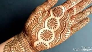 Latest mehndi designs for girls 2018-19