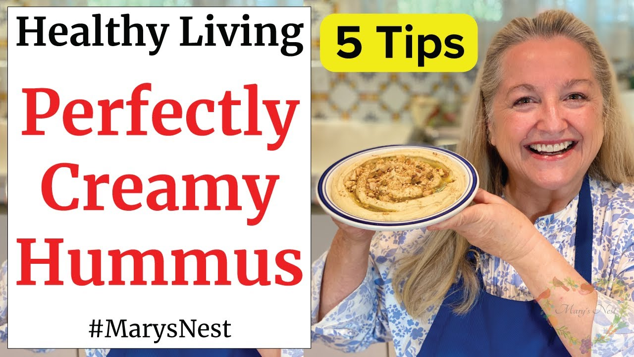 Download 5 Tips for How to Make Hummus Perfectly Creamy Every Time - Easy Hummus Recipe with Dukkah Topping