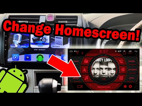 COGOO - Cheap Android Car Stereo | How To Change Car Home Screen Launcher | AGAMA Car Launcher