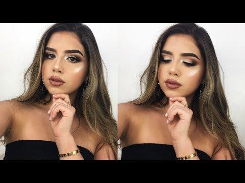My Go-To Glam Makeup Look | Amanda Diaz
