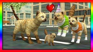 СИМУЛЯТОР Маленького КОТЕНКА #23 ОХОТА в САФАРИ кошка забеременела ДЕТСКИЕ ИГРЫ