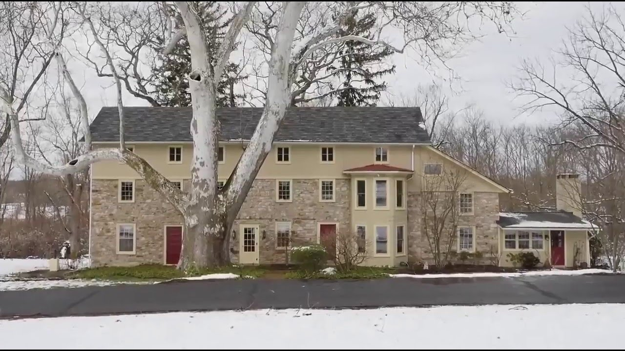 Home For Sale 6 Bedroom Stone Farmhouse 2325 Quarry Road Doylestown