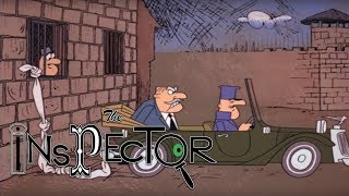Le Cop On Le Rocks | Pink Panther Cartoons | The Inspector