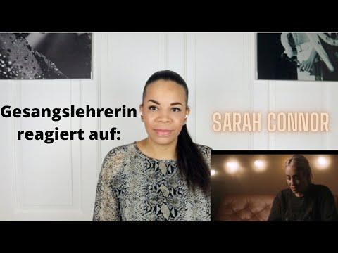 Gesangslehrerin reagiert auf Sarah Connor - Stark