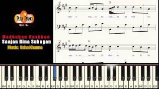 MADHUBAN KHUSHBOO DETA HAI PIANO SHEET MUSIC S RAJ BALAN