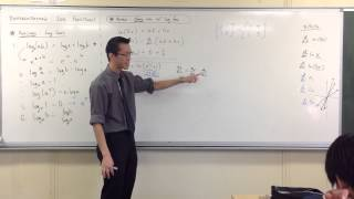Differentiating Log Functions w/ Chain Rule