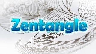 Зентангл для начинающих / Zentangle. Drawing basics