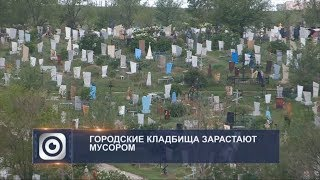 На кладбищах Шымкента нет порядка