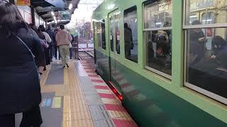 京阪 石山坂本線 700形 708-709 京阪旧塗装 滋賀里  京阪膳所  20191205