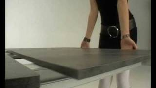 Tavoli allungabili OZZIO DESIGN - YouTube