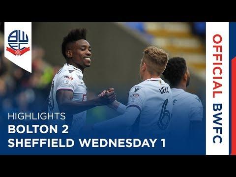 HIGHLIGHTS | Bolton 2-1 Sheffield Wednesday