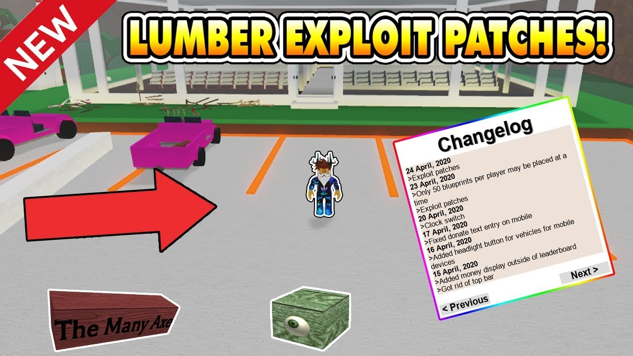 Lumber Tycoon 2 Exploit Patches It Is Over Roblox Youtube
